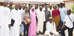BUK's BSc Agricultural Extension students