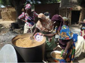 The Zangon Buhari Rice Milling Enterprise in Bunkure, Kano State.