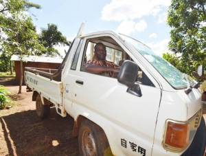Better agricultural practices enabled Henry to purchase a truck